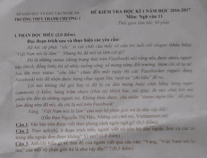 hien-tuong-viet-nam-noi-la-lam-xuat-hien-trong-de-thi-mon-van-gay-xon-xao