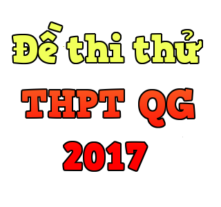 Đề thi thử THPT Quốc gia 2017 môn Lịch sử