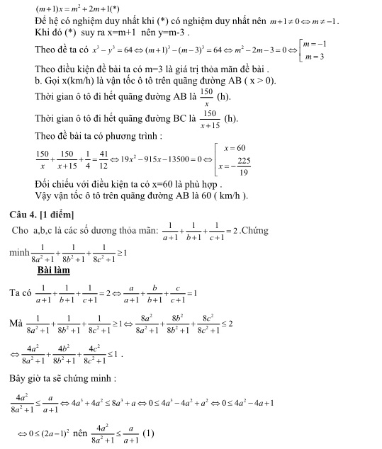 Đề thi lớp 10 chuyên toán lào Cai năm 2016