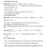 Tổng hợp kiến thức ôn tập lớp 9 hữu ích cho các bạn thi vào 10