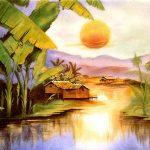 """Bức tranh thiên nhiên làng quê trong """"Lao xao"""" của Duy Khán"""