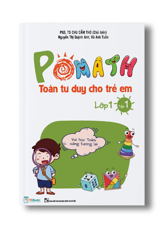 Pomath toán tư duy cho trẻ em lớp 1 tập 1