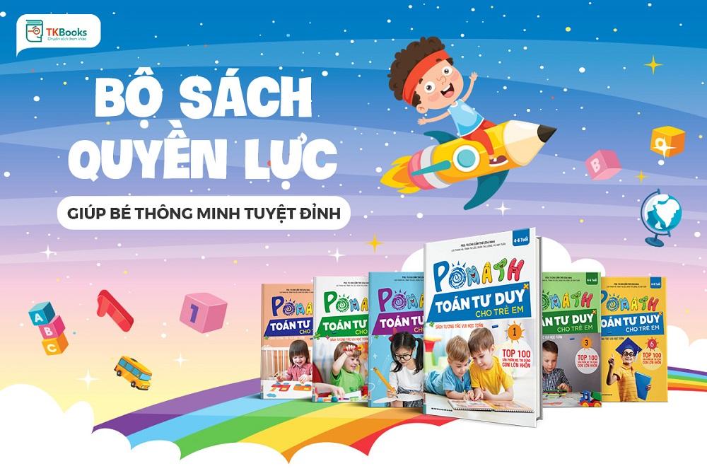 Pomath - Toán tư duy cho trẻ em 4 - 6 tuổi